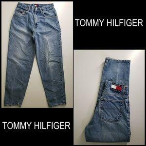 Tommy Hilfiger Men Denim Taper Leg Blue Jeans 30